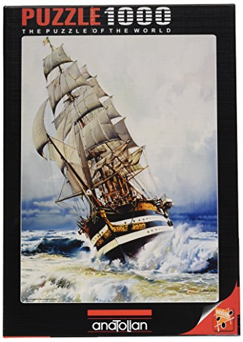 Black Pearl Jigsaw Puzzle, 1000-Piece