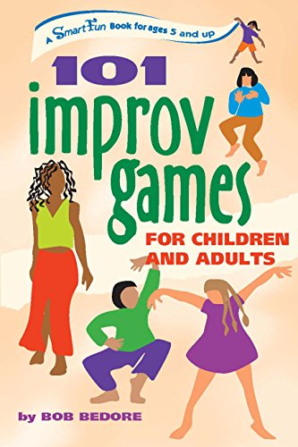 Books On Acting in Amazon Store - 101 Improv Games for Children and Adults