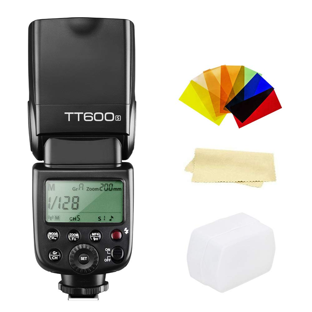 Godox Thinklite TT600S GN60 Built-in 2.4G Wireless X System Flash Speedlite Compatible for Sony Multi Interface MI Shoe Cameras by Godox