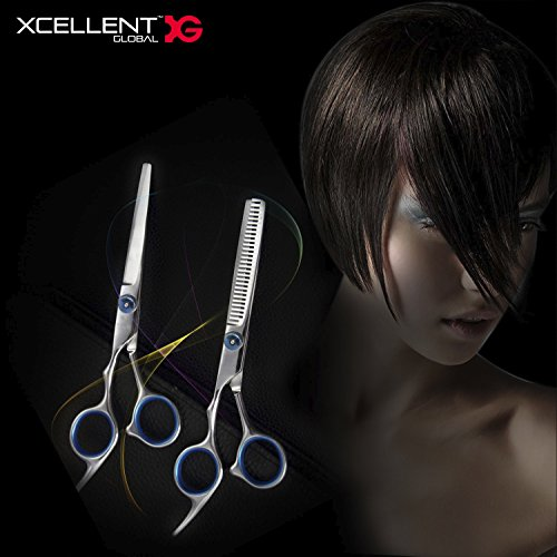Scissors Stainless Steel Barber Scissors Set Bangs Hair Scissor Thin Flat Cut Teeth Hair Beauty Scissors Combination Set