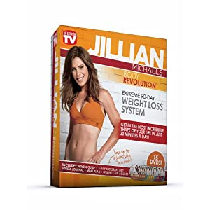 Jillian Michaels Body Revolution 90-Day Extreme Weight-Loss System