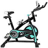 XtremepowerUS Indoor Cycle Trainer Fitness Bicycle Stationary Exercise Bikes (Red and Black)