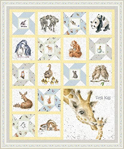 (Hannah Dale Love is... First Kiss Quilt Kit Maywood Studio )