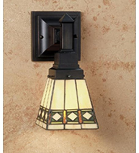 Diamond Mission Wall Sconce