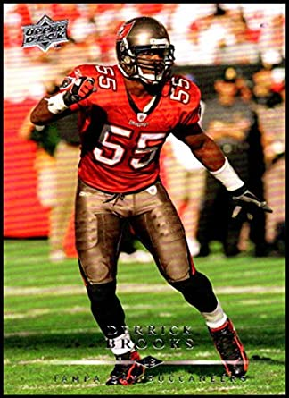 1548c9e2 2008 Upper Deck #183 Derrick Brooks NM-MT Tampa Bay Buccaneers Official NFL  Football