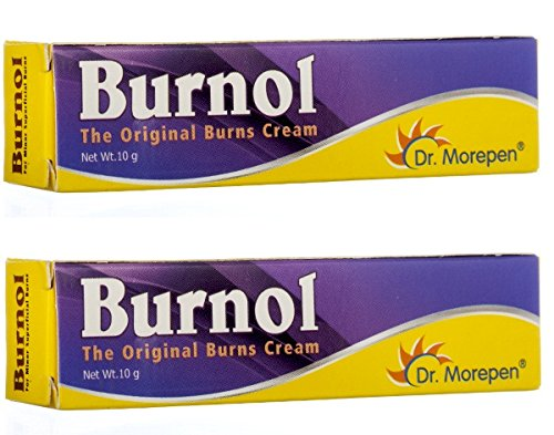 First Aid Antiseptic Cream Burnol - Burns Cuts Bruises Wounds 10gm (Pack of 2) - Pamherbals® (Best Antiseptic Cream For Burns)