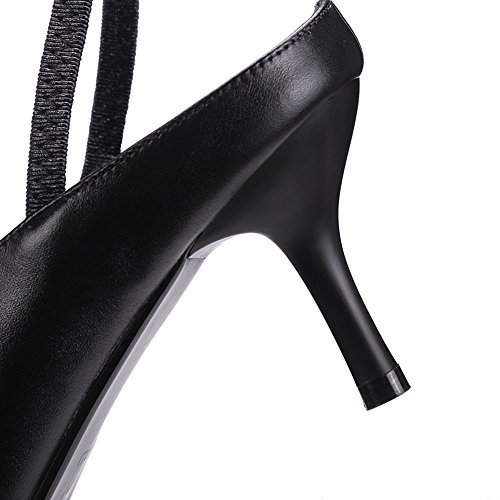 Nine SevenSandals - Zapatos con correa de tobillo mujer negro