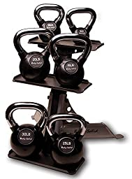 Kettle Bell and Rack Set