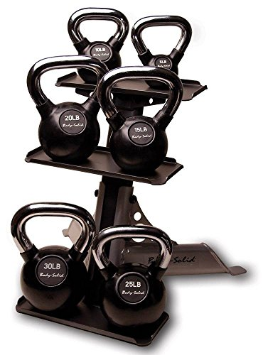 Kettle Bell and Rack Set by Body-Solid