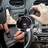 Bluetooth-Car-Kit-DBPOWER-Bluetooth-40-Wireless-Stereo-Music-Receiver-with-Ground-Loop-Noise-Isolator-Handsfree-Car-Kits-Bluetooth-Receiver-Adapter-with-35-mm-Aux-Cable-Built-in-Mic