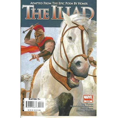 Marvel Illustrated - Homers The Iliad #3 (Marvel Comics)