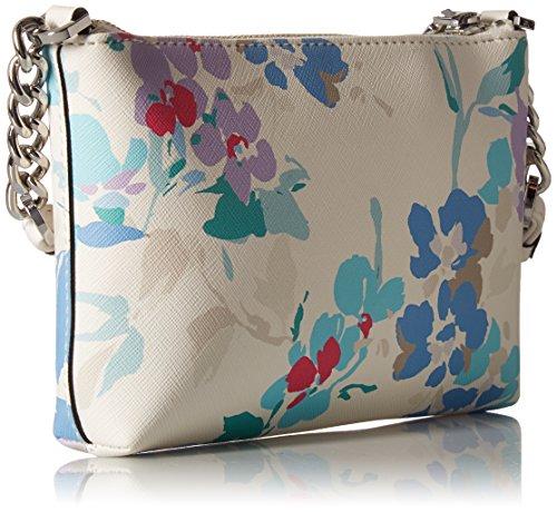Hayden Klein Saffiano Floral Crossbody White Calvin Printed T5a6wdxx
