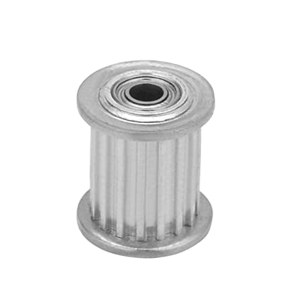 ALCOMPRA Aluminio MXL 16 Dientes 3mm Bore Correa dentada ...