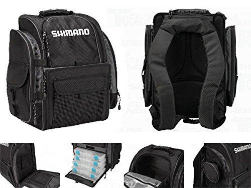 Shimano Blackmoon Medium Fishing Backpack - Model: BLMBP270BK