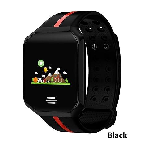 ZCPWJS Pulsera Inteligente B07 Reloj Inteligente Monitor de Ritmo Cardíaco Fitness Tracker Smartwatch Hombres Mujeres Presión
