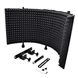 Pyle PSMRS11 Acoustic Isolation Microphone Absorber Shield