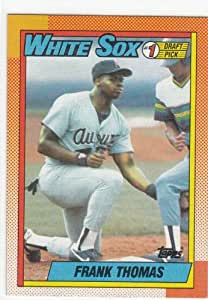 Frank Thomas 1990 Topps Rookie Card #414 Baseball Card