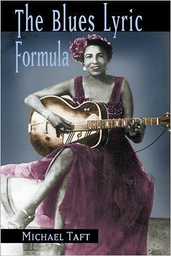 Book The Blues Lyric Formula by Michael Taft (2006-02-18)