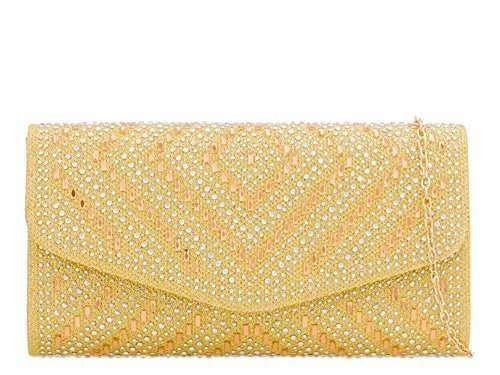 Bag For Ladies Haute Clutch Clutch Haute Champagne Diamante Diva Ladies For Diamante Diva Gold ffwqRxrPE