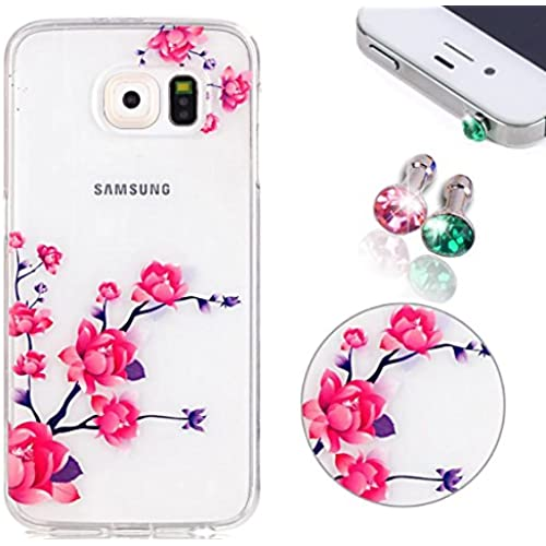 TPU Case for Samsung Galaxy S7, Pershoo Ultra Thin Crystal Clear TPU Hybrid Thin Soft Shockproof Bumper Cover Colorful Printing Simple Case for Galaxy S7  Sales