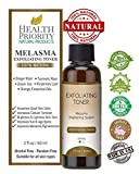 Melasma Treatment for Face - 100% Natural & Organic. Best Toner for Lightening