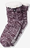 VICTORIA SECRET - Pink. COZY BOOTIES. SHERPA maroon. SLIPPERS SOCKS. SOLD OUT