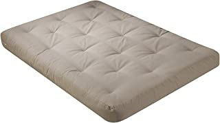 product image for Serta Willow Double Sided Visco, Memory CertiPUR foam Queen Futon Mattress, Khaki, Made in the USA