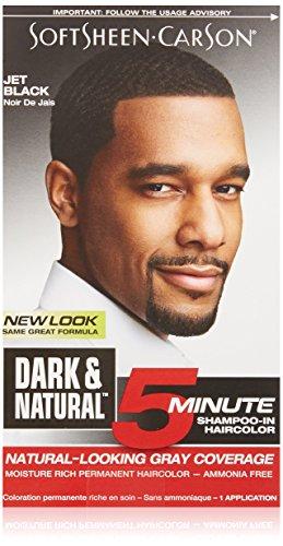 SoftSheen-Carson Dark & Natural 5 Minute Shampoo-In Haircolor, Jet Black