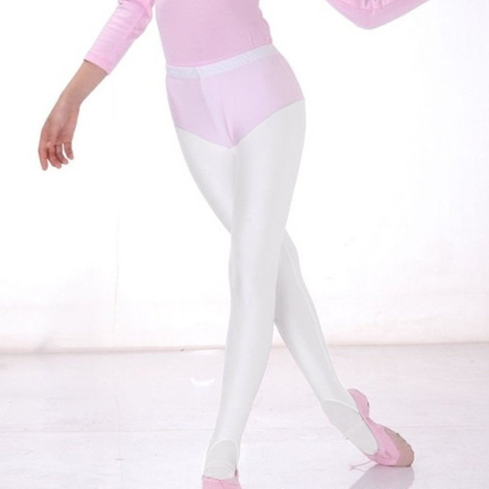 7d2f79731 Amazon.com  Todder Baby Girls Ballet Leotards Tights 3-10 Years Old Kids  Dance Leggings Pants Footed  Clothing