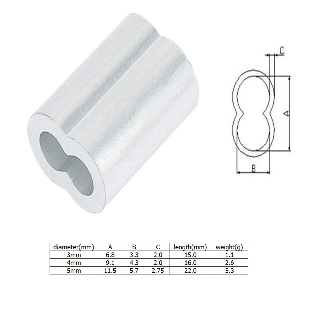 4mm Wire Wire Stopper Wire Clip 8shapes Wire Fixation REDHAT 4mm-Wire Sleeve
