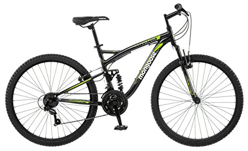 "Mongoose Status 2.2 26"" Wheel men's bicycle, 18"" frame size, black (R5500A)"
