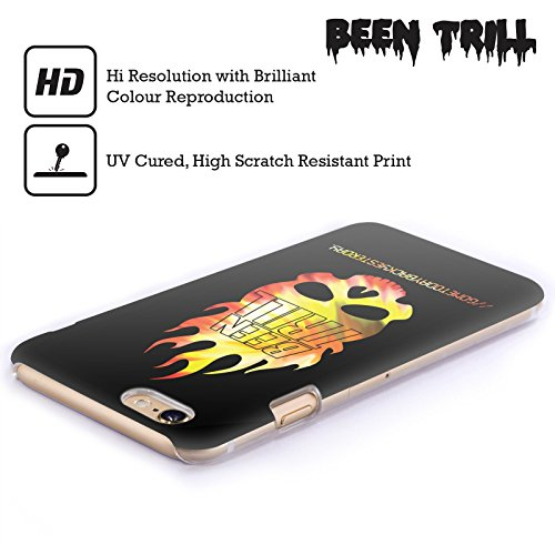 Official Been Trill Flaming Skull Colourful Prints Hard Back Case for Apple iPhone 6 Plus / 6s Plus