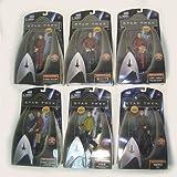 """Set of 6 Star Trek 6"""" Action Figures"""
