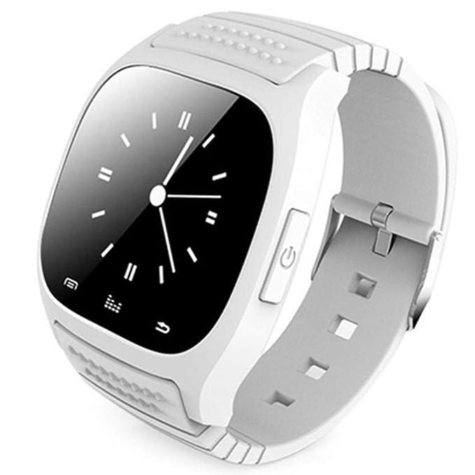 FRJGLAPRE Pulsera de Actividad Smartwatch M26 Bluetooth Smart ...