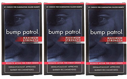 Bump Patrol Maximum Strength Dermatologist Approved Moisturizing Aftershave (2 oz) 3 Pack