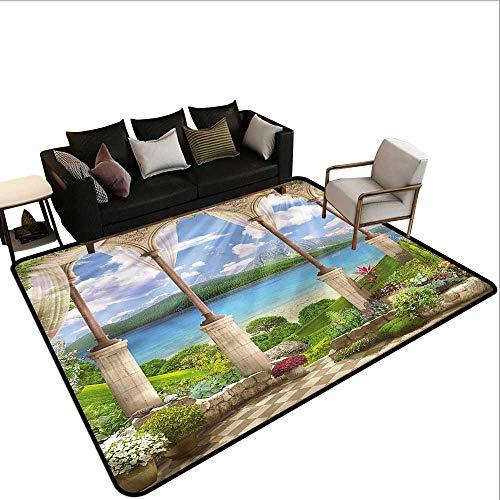 Italian,Office Chair Floor Mat Foot Pad 36