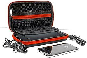 Orzly Accesorios 3DSXL, Pack Nintendo 3DS XL Original o Nuevo New 3DS XL [Set Incluye: Cargador de Coche/Cable USB/Funda para Consola/Fundas para Cartuchos y más…] (Véase descripción): Amazon.es: Electrónica