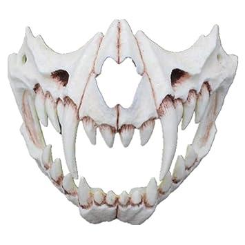 Amazon.com: Yinrunx Halloween Cosplay Mask - Japanese Style ...
