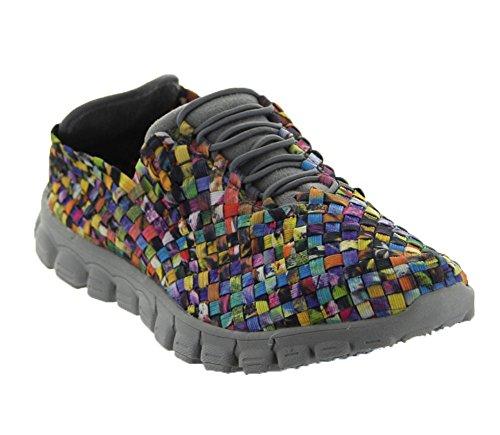 ZEEALEXIS Frauen Danielle Sneaker Mosaik Multi