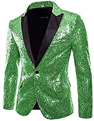 Men's Shiny Sequins Jackets