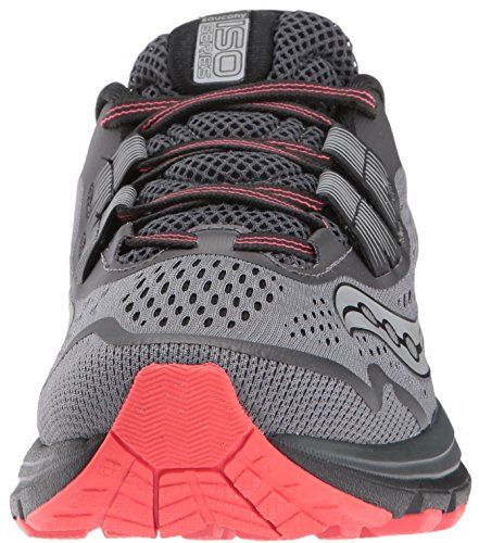 Iso 3 Coral Women's Grey Running Shoes Saucony Zealot q1tEq
