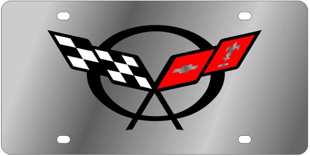 Eurosport Daytona 1330-1 Stainless Steel License Plate Frame