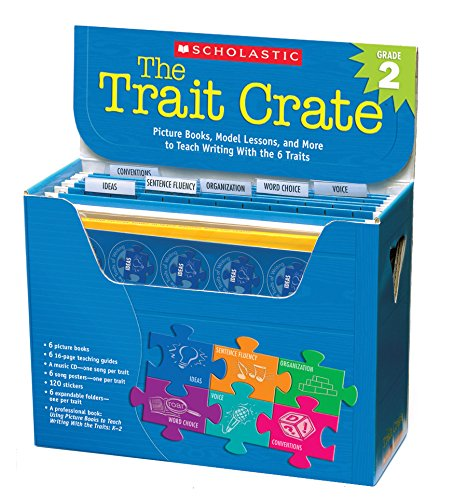 The Trait Crate Grade 2: Picture Books, Model Lessons, and More to Teach Writing With the 6 Traits Ruth Culham Scholastic Prof Book Div SC507472 Education