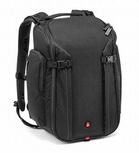 Manfrotto MB MP-BP-20BB Professional Rucksack (geeignet für DSLR Kamera, Laptop, Blitzgerät und Objektive) schwarz