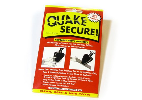 Quake Secure Reusable Putty Adhesive