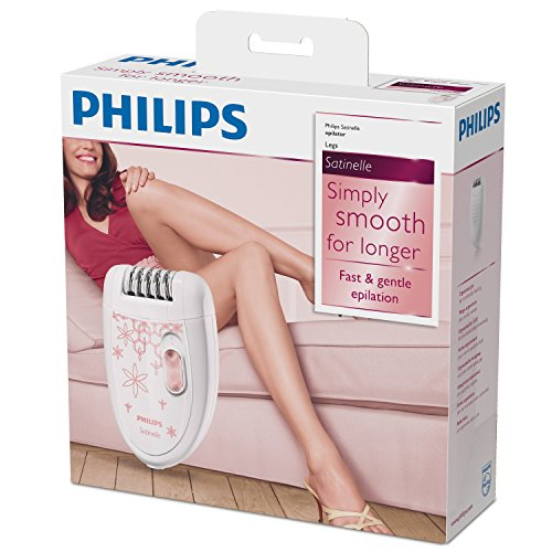 Image result for Philips Satinelle Essential Compact Epilator (HP6420/00)