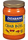 Zatarains Pre-Seasoned Crab and Shrimp Boil 72 Ounce (Pack of 6 - Total 432 Ounce)