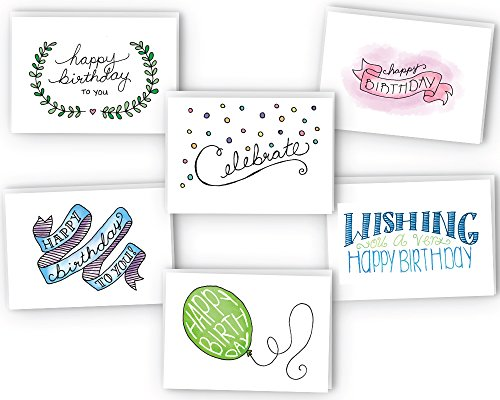 Happy Birthday Cards Variety Pack product image