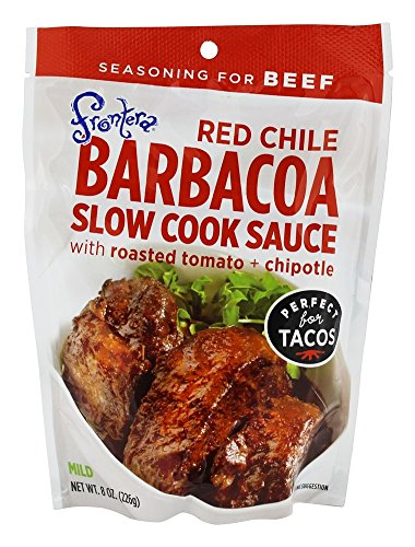 - Frontera - Red Chile Barbacoa Slow Cook Sauce with Roasted Tomato + Chipotle - 8 oz. (1)