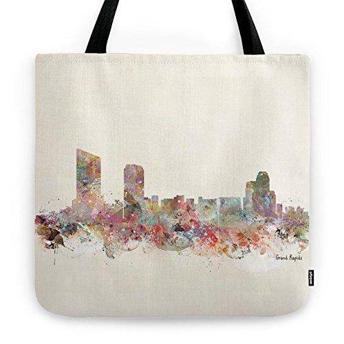 Society6 Grand Rapids Michigan Tote Bag 18